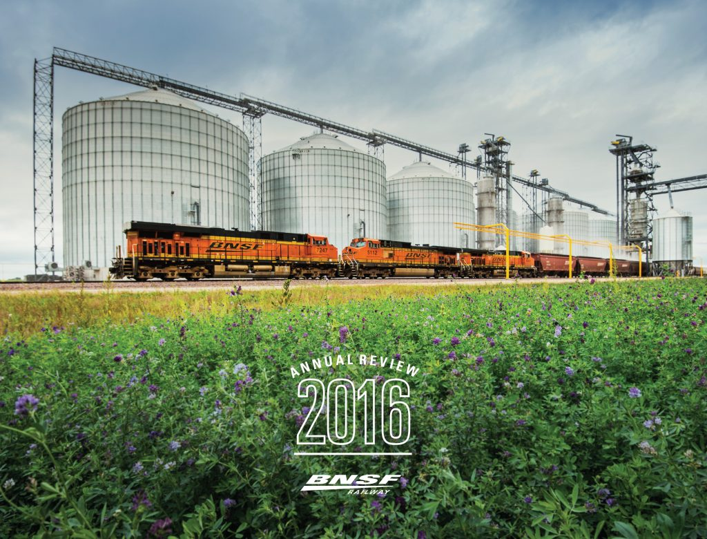 bnsf annual review cover